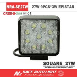 IP67 waterproof led off road driving light /car super bright 27 watt led work light