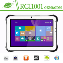 10 inch Quad-core Android rugged tablet ip65 used in mining industry