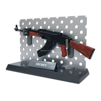 plastic toy guns 3D AK47 Anime bb scale safe gun model Figures military OEM&ODM 1/6 pvc figurine manufacture factory