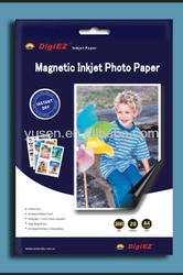 Since 2002 Quality Audited Factory Sale Inkjet Magnetic Photo Paper