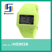 2013 promotional silicone digital smart watch cheap