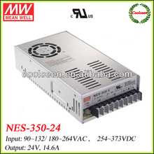 Meanwell NES-350-24 350W ac dc power supply