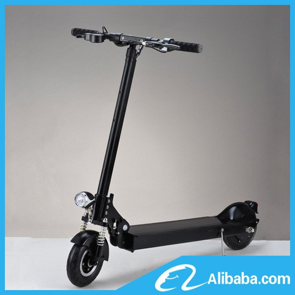 8 inch aluminum lithium battery power 350w motor 2 wheel for Stand on scooters with motor