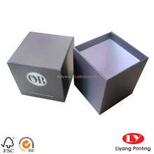 High quality handmade gift candle packaging boxes