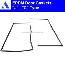 Complete set of epdm container rubber door seals for sale
