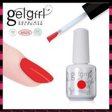 Salon professional 15ml organic soak off uv gel nail polish