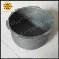 Smelting copper carbon box graphite crucible