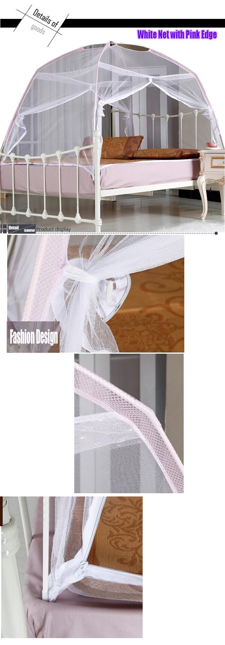 мелкая сеточка комаров палатка ger типа противомоскитная хороший сон, кровать, сетка с двойной дверью молния