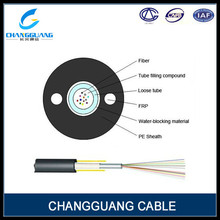 Excellent mechanical and temperature performance unitube Inner loose tube fiber optic cable