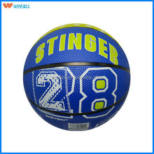 best sale official child training rubber basketball