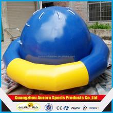 2015 best popular Creative Design inflatable saturn water toy, floating saturn rocker