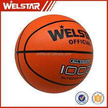 Best Selling Deep Line Foam Orange Rubber Basketball