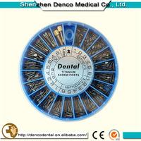 2015 best selling anti slip dental implants screw