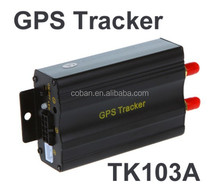 Real Manufacturer Vehicle GPS Tracker TK103 GPS Car Tracker with Memory Card Slot ,Low Power Alert ,Cut off Oil and Power