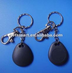 Stronger Plastic 13.56MHZ Waterproof NFC Key Chains Key fob NTAG216 Key Tag
