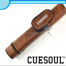 CUESOUL 2 Holes Multi-color PVC Leather Pool Cue Billiard Cases,pool cue case