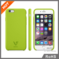 High quality pc tup cell phone accessory plastic cover hard case skin protector for iphone 6