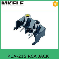 2 pin rca to bnc connector RCA-215