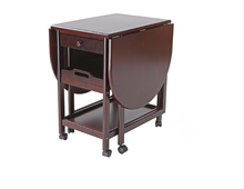 Made in China wholesale antique folding dark brown table
