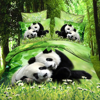 Alibaba gold supplier soft and comfortable 3d animal bedding sets