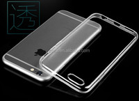0.5mm High Clear 3d silicone TPU phone case for iPhone 6
