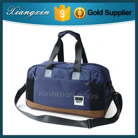 Classic Fashion Cheap Price Polyester Canvas Men Sport Travel Bag