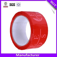 Bopp printed packaging tape string acrylic adhesive