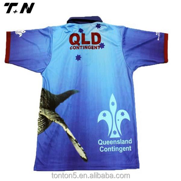 Customized Fishing Wear Tournament Fishing Jerseys