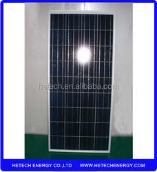 Factory direct supply polycrystalline 140w solar panel price