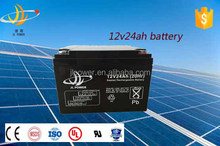 Top quality 12v 24ah Lead acid battery supplier maintenance free ups solar battery 12v 24ah ups battery with long service life
