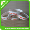 Promotional silicone custom bracelet with printing logo