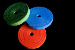factory prices back to back hook loop velcro fastener tape
