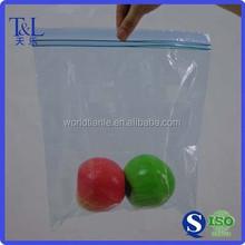 Factory T&L Brand Leakproof Reclosable Double Zip Bags