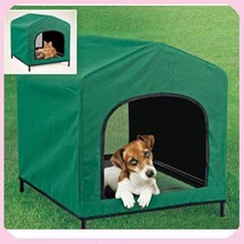 HoundHouse Dog House Portable Elevated Kennel