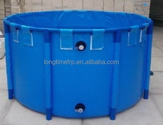 Round Fish Tank For Sale Fish Farming Tank Blue Round