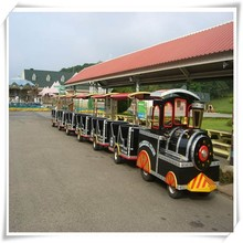 Cute Cartoon Small Amusement Park Trains For Sale For Outdoor Playground