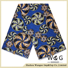 wholesale 100% african cotton fabric wax batik fabric
