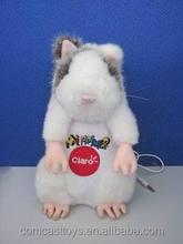 Plush music mouse pets toys stuffed music mouse toys