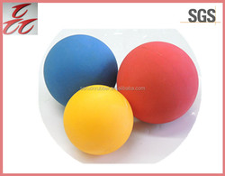 base balls /rubber balls/rubber foam balls/silicone balls for dogs/therapy/sport//treatment/toys