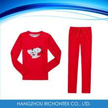 Kids colorful comfortable fleece set, kids clothing