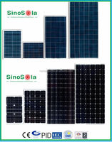 High Efficiency Mono/Poly Solar Panel With Price List from 3W to 315W