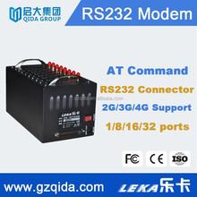 low price multi sim modem bulk sms software with serial/usb port