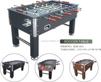 mdf coffee soccer table game with two cup holder for sale 2015