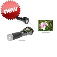 2015 Wholesale battery powered camcorder led torch flashlight hunting camera with great price