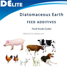 DElite Nature Diatomite Powder Animal Feed Additive For Chicken/Horse/Cat/Fish /Dog/Sheep /Cow