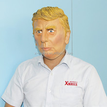 X-MERRY Donald Trump Latex Halloween Mask Celebrity Face Mask Popular TV Presenter Face Mask