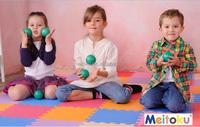 Meitoku Offer floor mat baby play mat