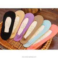 Women's Loafer Liner Socks Casual Anti Odor No Show None Slip Hidden Sock