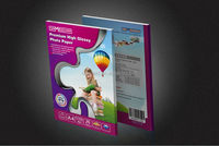 Super Premium High waterproof Double sided glossy quality professional photo paper 220g A1 A2 A3 A4 size
