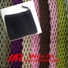 polyester woven 3d mesh fabric for drawstring bags